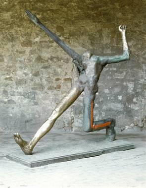 ... Bronze, Farbig, 265 X 157 X 230 Cm, Kulturstiftung Sachsen Anhalt    Kunstmuseum Moritzburg Halle (Saale) Foto: Klaus E. Göltz © VG Bild Kunst,  Bonn 2018